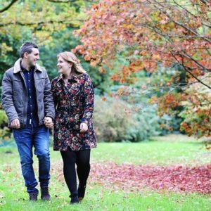 Autumn engagement photography 16