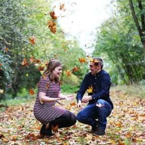 Autumn engagement photography 18