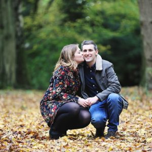 Autumn engagement photography 19