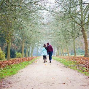 Autumn engagement photography 4