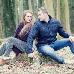 Autumn engagement photography 9