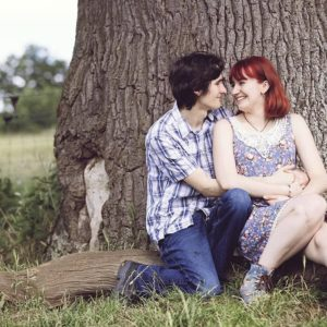 spring engagement photography 7